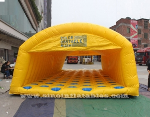 kids N adults inflatable obstacle rush