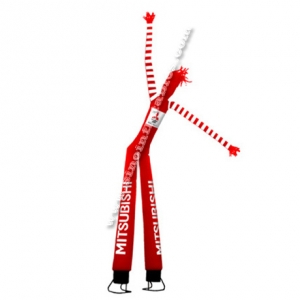 double legs advertising inflatable dancing man