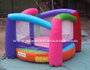 8 x 8 ft mini rainbow inflatable bouncer