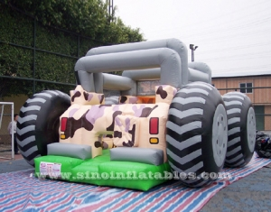 kids ATV inflatable slide