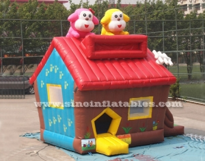 inflatable puppy house of bounce