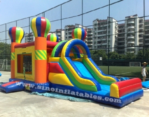 commercial inflatable combo bounce house