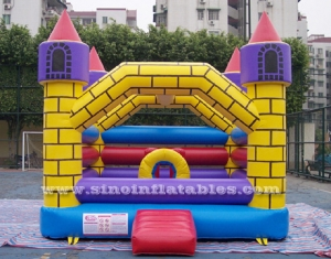 children magic brick castle inflatable bouncer