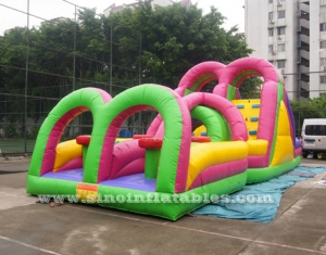 outdoor kids inflatable interactive game