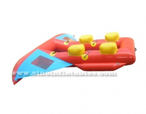 4 person custom made inflatable fishing boat