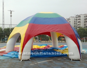 big advertising inflatable tent