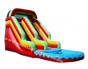 commercial pool inflatable water slide