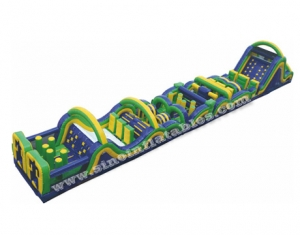 Multifunctional radical run kids N adults inflatable obstacle course