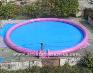 outdoor giant inflatable pool for kids N adults