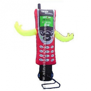 cell phone advertising inflatable air dancer