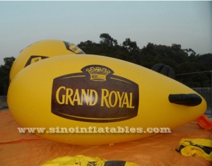 Grand Royal inflatable zeppelin