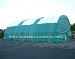 9m high giant inflatable tent with door
