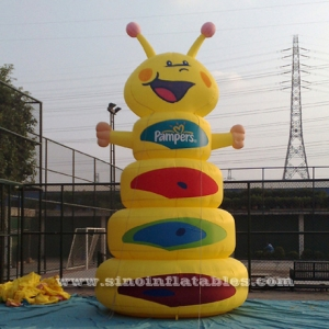 pampers inflatable catepillar promotion model