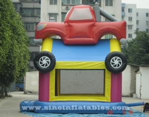 Kids monster car bounce house for sale