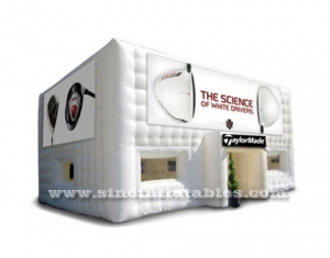 movable sports arena inflatable cubic tent