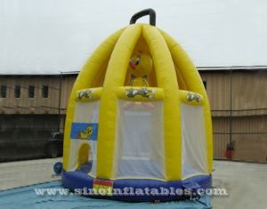 Outdoor Tom and Jerry  theme kids birdcage inflatable bounce house