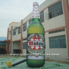outdoor giant inflatable beer bottle