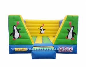 Indoor small penguin inflatable jumper