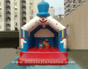 clown inflatable bouncy castle