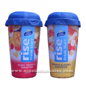 giant smoothie inflatable cup