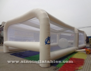 Adults energy challenge running inflatable obstacle tent