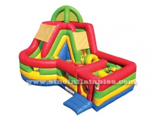 bounce inflatable obstacle course