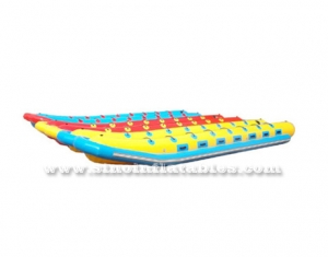 High quality outdoor use giant inflatable banana boat