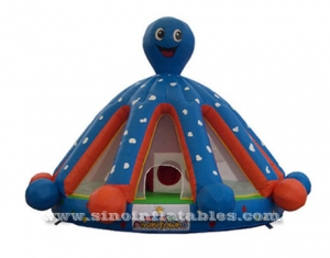 octopus inflatable jumping castle with blower for sale