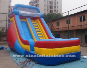 mid-rail kids inflatable slide