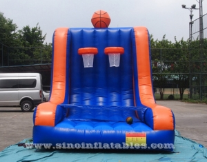 inflatable double basketball shooting