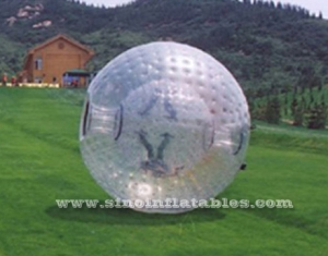 human roll inside inflatable zorb ball