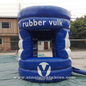 3 meters high big advertising inflatable booth