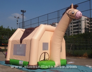 commercial swift horse inflatable bouncer
