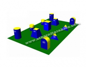 archery game air tags inflatable panitball bunkers