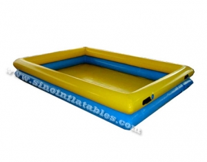 double rail children N adults big inflatable swimming pool