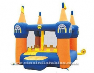 Mini custom design outdoor regular inflatable bouncer with blower