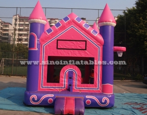 Outdoor purple kids inflatable bouncer