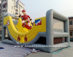 slide skateboard inflatable slide