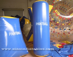 Inflatable Barrel Paintball Marker