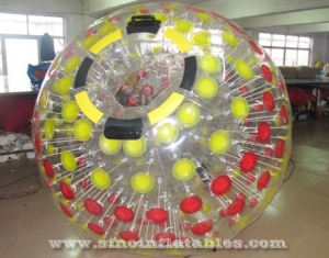 Mega transparent inflatable zorb ball