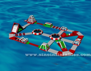 custom design kids N adults giant inflatable floating water park