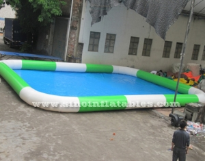 kids big inflatable pool for playing water ball