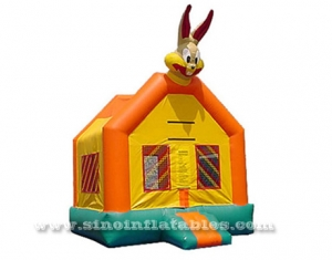 outdoor Children party big rabbit inflatable bounce house