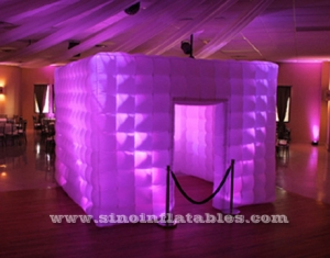 tube led light inflatable photo booth