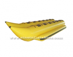 6.0L x 2.04W meters 12 person banana double row inflatable boat