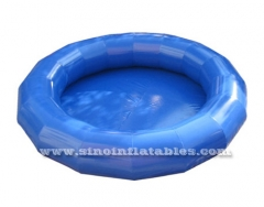 small round kids inflatable swimming pool
