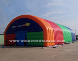 colorful sports arena giant inflatable tent