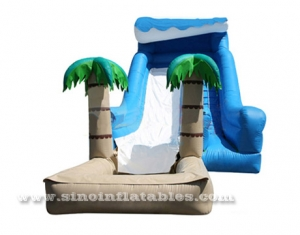 Kids cheap inflatable water slide clearance