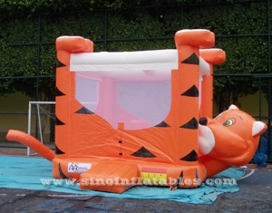 big headstand tiger inflatable bounce house