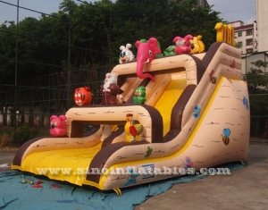 Noah's ark inflatable slide